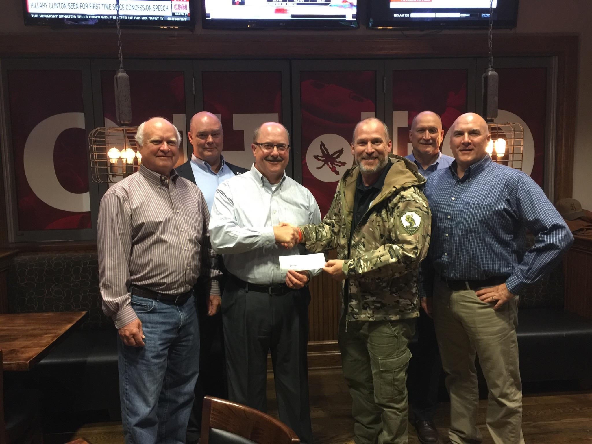 Save A Warrior Check Presentation